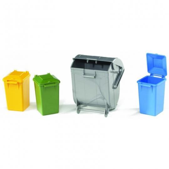 Bruder 2606 - Mülltonnen-Set