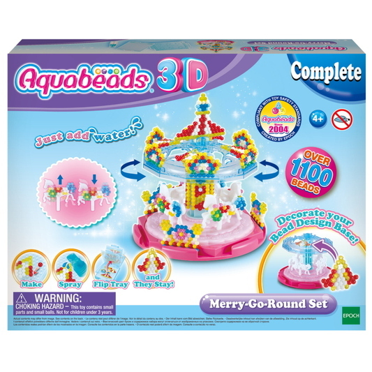 """Aquabeads 31364 - 3D Bastelset """"Karussell"""""""