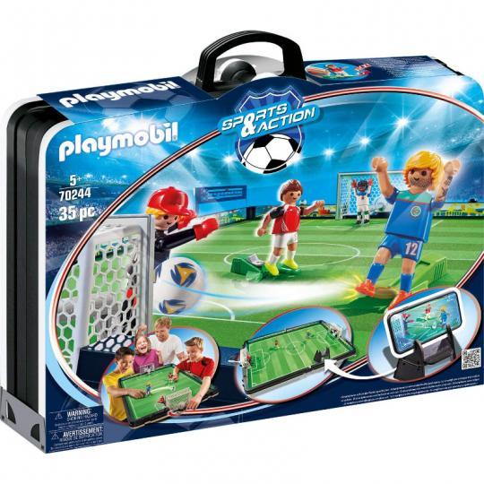 Playmobil 70244 - Fußballarena & Spielfiguren