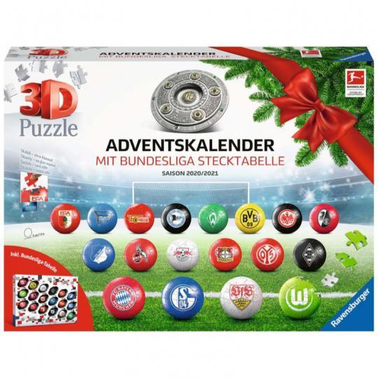 Bundesliga Adventskalender 2020/2021 - Ravensburger